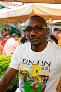 William Ndwiga, projects coordinator, The Little Art Gallery.