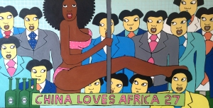 Michael Soi's China Loves Africa #27
